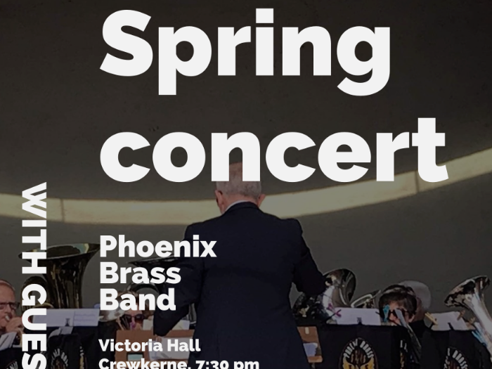 Spring Concert at the Victoria Hall, Crewkerne
