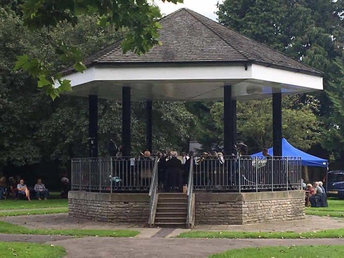 Sunday Bandstand in Wells