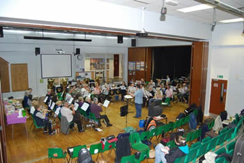 Brass workshop lead by David Thornton in 2014